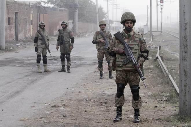 indo pakborder, india, pakistan, thermal camouflage suits, jammu and kashmir, BSF jawan ,Indo-Pak IB ,HHTI,RS Pora region