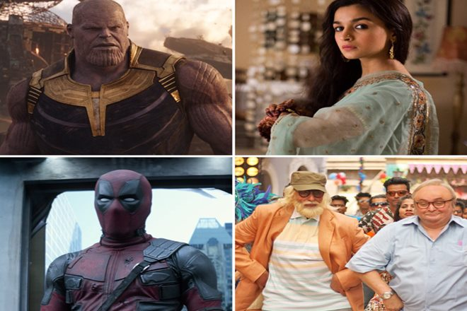 Box Office Collection, Raazi, Deadpool 2, Avengers: Infinity War, 102 Not Out, Avengers, box office india, box office 2018