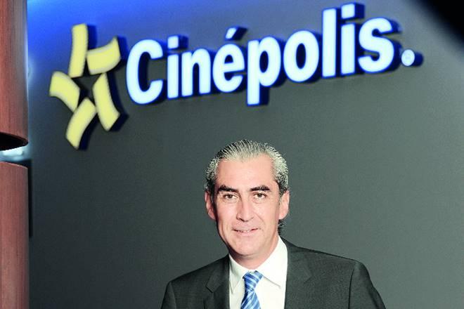 Cinepolis, cinepolis india, Javier sotomayor