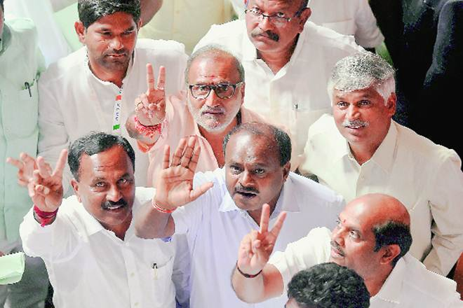 karnataka, karnataka floor test, bs yeddyurappa, hd kumarswamy, jds, congress, bjp
