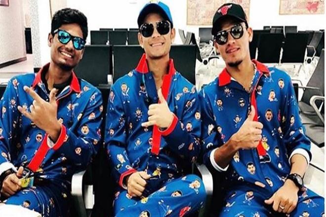 आईपीएल 2018. मुंबई इंडियंस, इशान किशन, इमोजी किट, राहुल चाहर, mumbai indians emoji kit, mumbai indians, ipl 2018