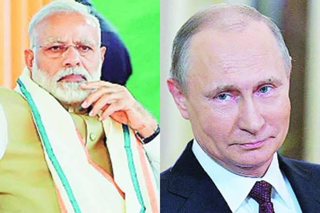 Narendra Modi,Narendra Modi russia visit,Vladimir Putin,Ministry of External Affairs,Xi Jingpin, india russia ties