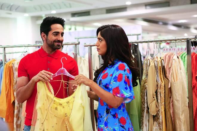 Bhumi Pednekar,Ayushmann Khurrana, V mart, vmart, fashion, clothing, shopping, desi jodi, fbb, pantaloons