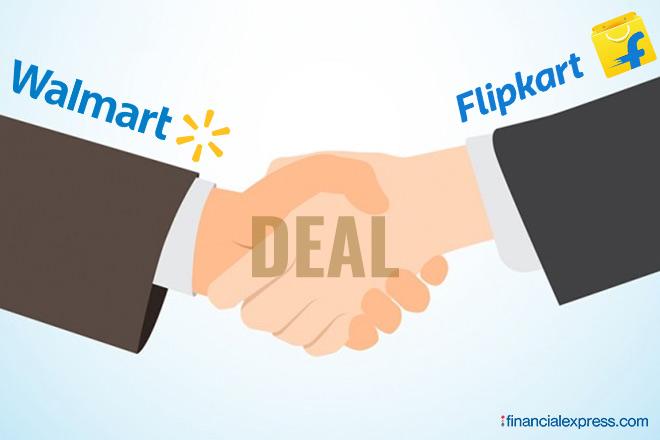 वॉलमार्ट-फ्लिपकार्ट डील, वॉलमार्ट, फ्लिपकार्ट,Flipkart, Walmart, walmart flipkart, Flipkart Walmart Deal, Sachin Bansal, binny bansal, flipkart walmart deal total value