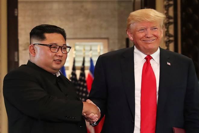 Donald Trump, Kim jong un, Kim jong un donald trump meet, trump kim meet, Kim jong un donald trump in singapore, us korea, trump, world news