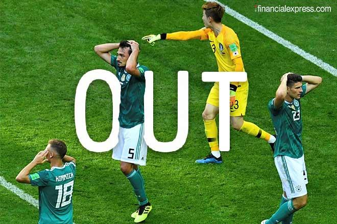 Germany football team, germany vs korea, germany out of world cup, fifa world cup, fifa wc, germany, geramany knocked out, why germany lost, german football team, sports news