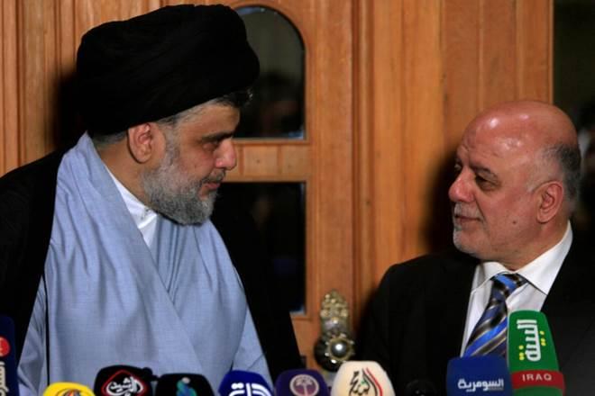 iraq, iraq pm, haider al abadi, shiite, moktadaal sadr, iranian leader, iraq news