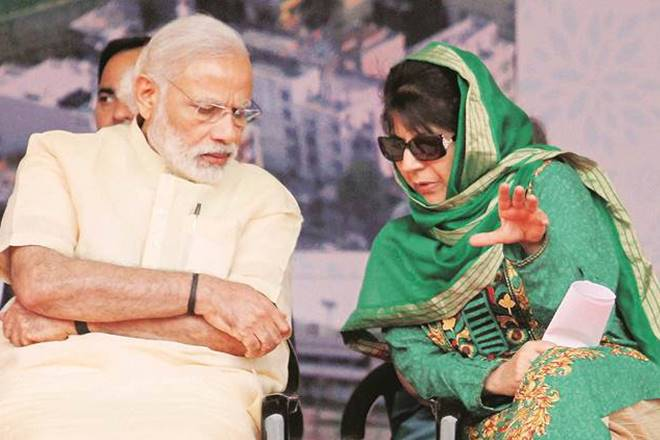 BJP PDP alliance, pdp alliance with bjp, mehbooba mufti, jammu and kashmir, j&K news, narendra modi, bharatiya janata party, bjp, peoples democratic party, kavindra gupta, amit shah