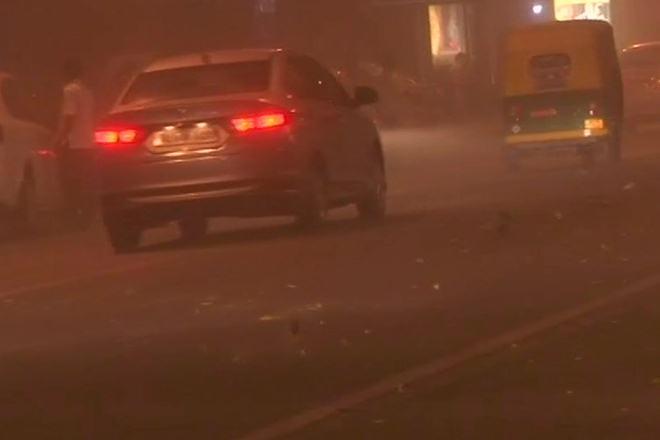 Delhi NCR, dust storm,Delhi