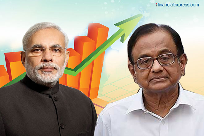 Chidambaram's 4-tyre economic theory: Modi's 1 tyre that is not punctured will soon mend other 3 too
