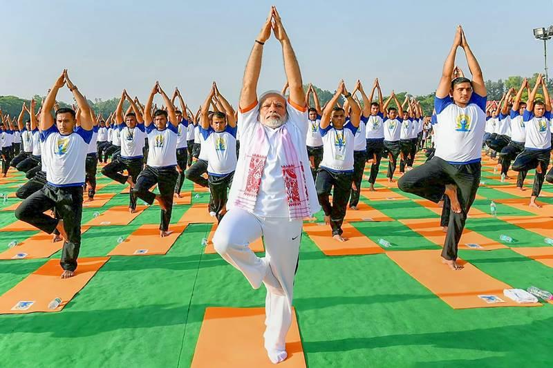 yoga day 2018