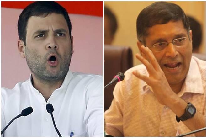 rahul gandhi, arvind subramanian, arvind subramanian rahul gandhi, rahul gandhi arvind subramanian retire, subramanian swamy, subramanian swamy arvind subramanian, arvind subramanian financial express