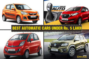 Best Automatic cars in India below Rs 5 lakh: Maruti Suzuki Alto, Renault Kwid and more - The Financial Express