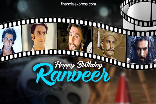 Ranveer singh, ranveer singh birthday, happy birthday ranveer singh, ranveer singh movie, ranveer singh turns 33, ranveer singh age, entertainment news