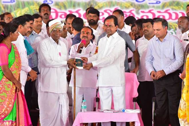 Quasi UBI,Rythu Bandhu,universal basic income,Rythu Bandhu policy, Telangana,agricultural policy