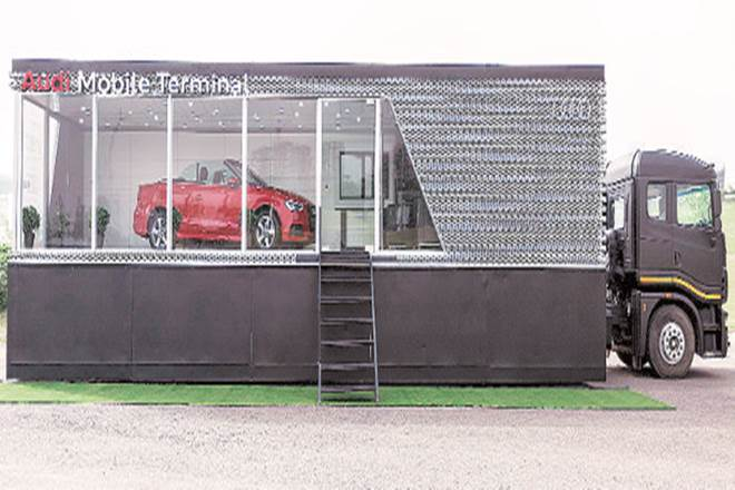 Audi,Indian hinterland,Audi Mobile Terminal,Audi Mobile Terminal tour,luxury cars,Audi brand
