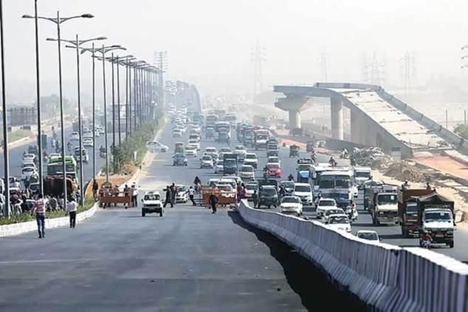 Barapullah flyover, Barapullah, new delhi, delhi flyover, Jawaharlal Nehru Stadium, JLN Stadium, Sarai Kale Khan, INA Market, Aurobindo Marg