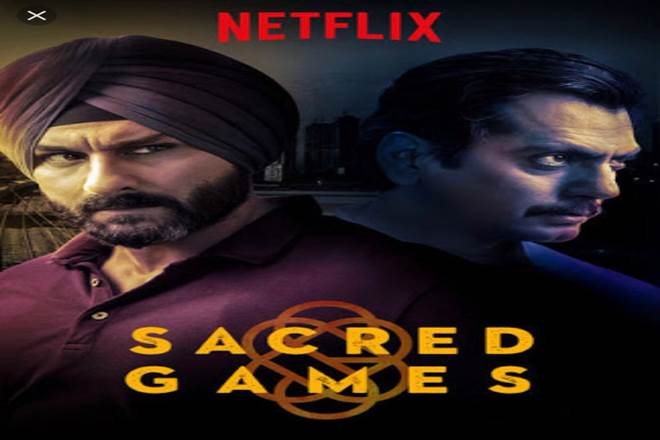 sacred games, netflix, late PM, rajeev gandhi, nawazuddinsiddiqui,anurag kashyap, vikramaditya motwane