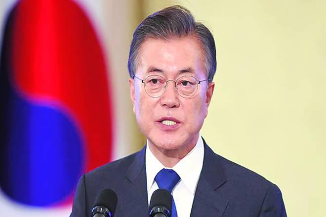 South Korean President Moon Jae-in, india, south korea