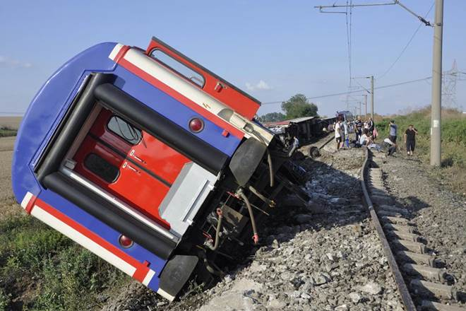 turkey train accident, turkey high speed train accident, train accident, Turkey, Recep Akdag