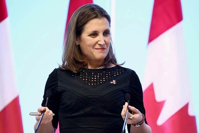 canada, saudi arabia, ottawa, Chrystia Freeland, human rights, riyadh, Prince Mohammed bin Salman, king salman, canadian ambassador