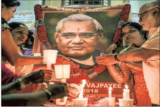 Atal Bihari Vajpayee,Bharatiya Janata Party, BJP,Jana Sangh, lk advani