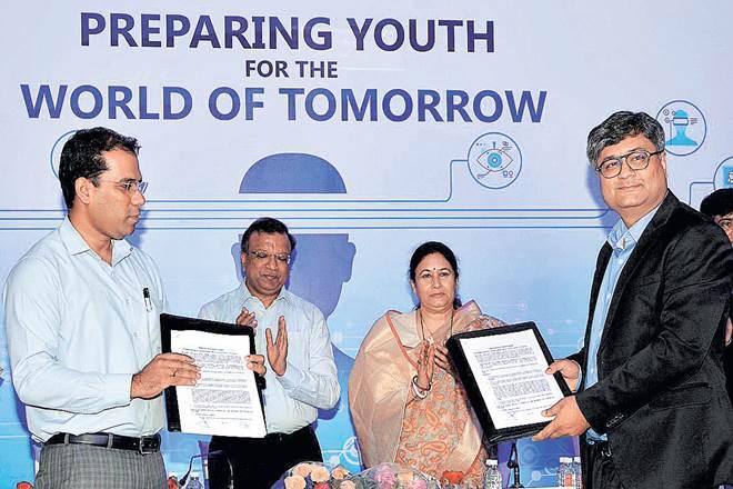 Skills training,Andhra Pradesh,integration of technology,Microsoft,Digital Learning Programme,Microsoft Educator Network