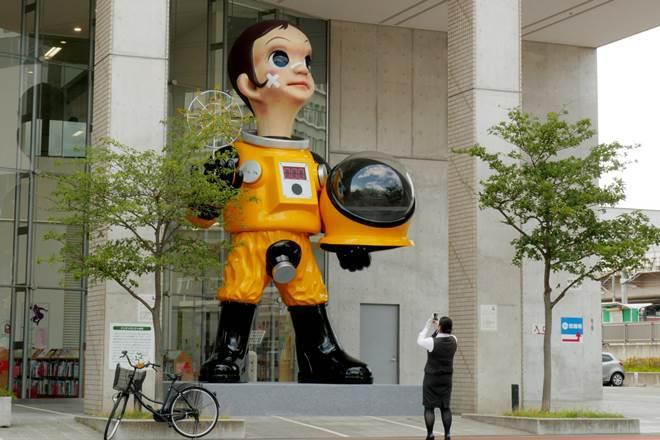 fukushima statue, controversial statue, controversial fukushima statue, hiroshi kohata