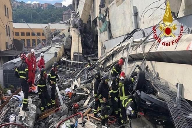 Genoa bridge collapse, Italy, Italy bridge, Giuseppe Conte, state of emergency, Italy state of emergency, motorway bridge, motorway bridge collapse, world news