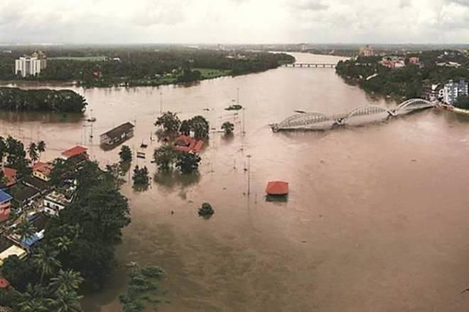 kerala floods, kerala, flood