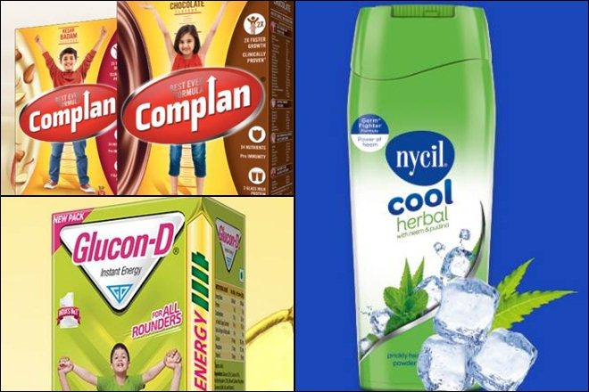 Complan, Glucon D, Nycil, Tata group , kraft heinz, dabur india,Cadila Healthcare,Sampriti butter