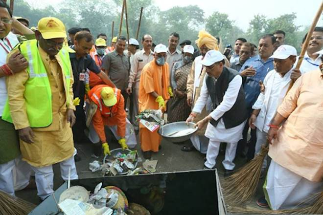 Plastic ban in UP, Yogi Adityanath, UP bans plastic, UP bans thernacol, disposable cups, plates, spoons, forks, glasses, BJP, non biodegradable polythene, india