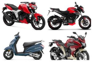 Top two-wheeler exporters from India: Bajaj, TVS take top spots in exports - The Financial Express