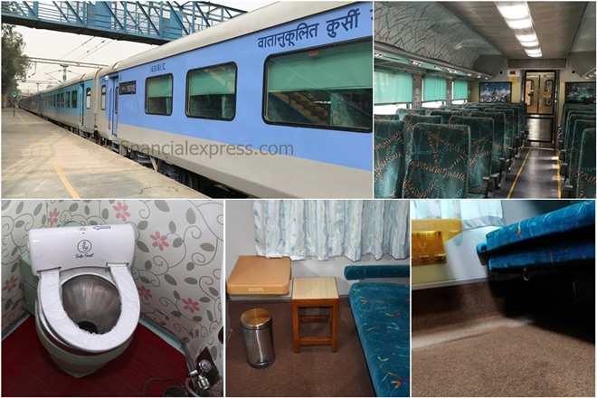 Indian Railways is upgrading its Rajdhani and Shatabdi Express trains