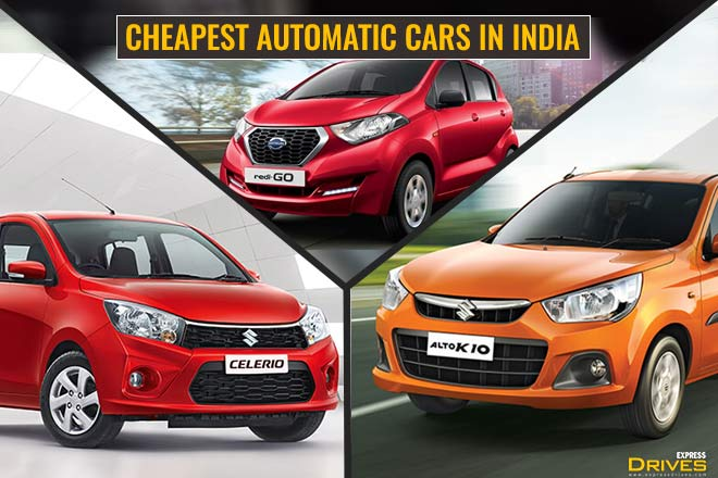 Automatic Cars which are cheap to drive