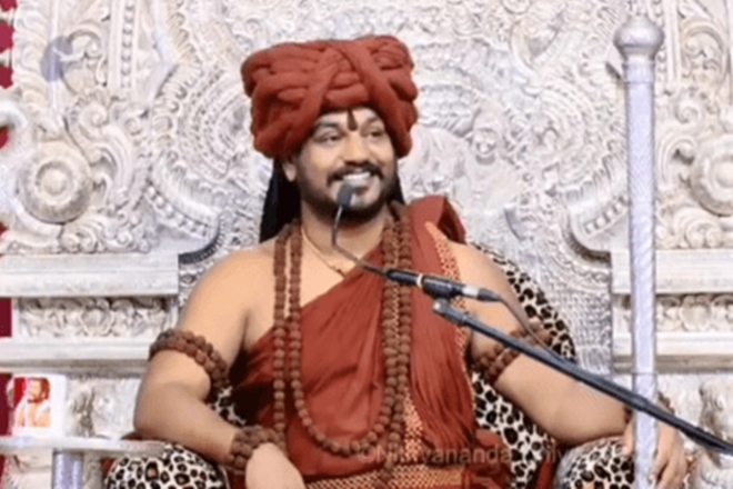 Swami Nithyanand, speaking cow, Swami Nithyanand video, Swami Nithyanand controversial video, Swami Nithyanand followers