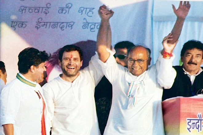 Madhya Pradesh Assembly election, Congress, Digvijaya Singh, Rahul Gandhi