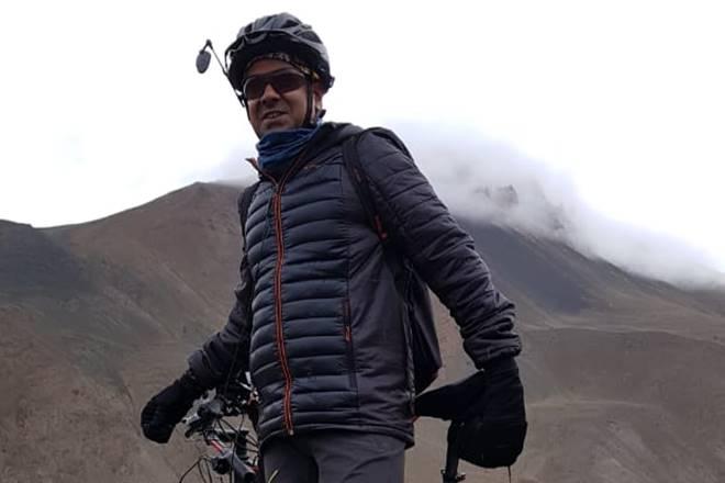 Sachin Deva, Sachin Deva cycling, cycling leh to kanyakumari, l2k cycling, india news