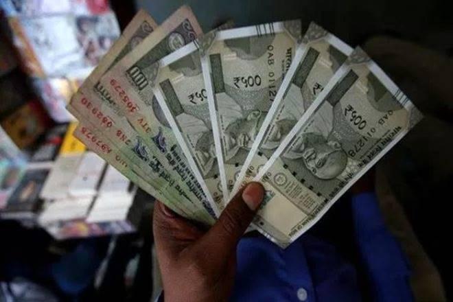 rupee, dollar