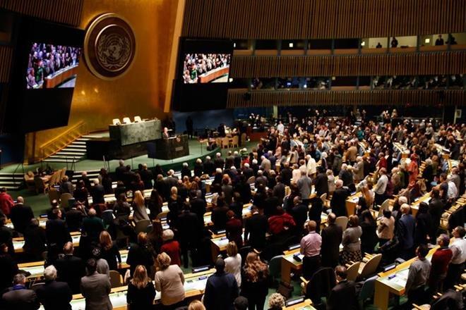 UN General Assembly,Maria Fernanda Espinosa Garces,Jawaharlal Nehru,United Nations Charter,Antonio Guterres