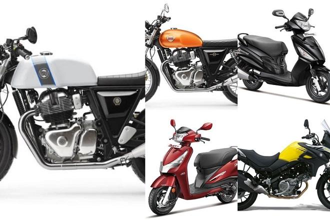 upcoming bikes in india, royal enfield 650, Royal Enfield, Interceptor 650, Continental GT 650, Royal Enfield Continental GT 650, Suzuki V-Strom 650, Suzuki , Hero Destini 125 (Duet 125), Hero, Destini 125 (Duet 125), Maestro Edge 125, financial express hindi