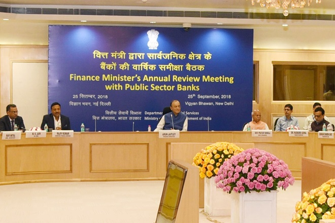 finance minister arun jaitley-to-meet-psu-banks-chiefs-to-review-financial-performance
