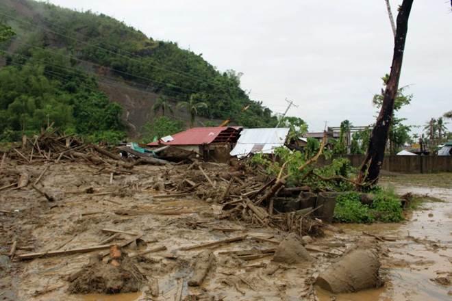 Philippine miners, typhoon, Philippine typhoon, typhoon-triggered landslide, Philippine Benguet, Victorio Palangdan, world news
