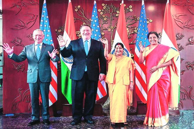 india, us, 2+2 dialogue, sushma swaraj, james mattis, nirmala sitharaman, mike pompeo, indo us dialogue