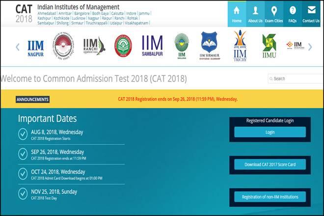 CAT 2018, iimcat.ac.in, CAT 2018 admit card, CAT 2018 admit card download, cat 2018 syllabus, cat 2018 exam date, CAT 2018 important dates, cat 2018 exam pattern, comon admission test, IIM, IIM admission, education news