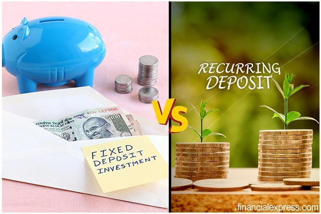Recurring deposits, fixed deposits, RD, FD, Recurring deposits vs fixed deposits, RD vs FD, FD vs RD, SIP of FD, Recurring deposit interest rates,