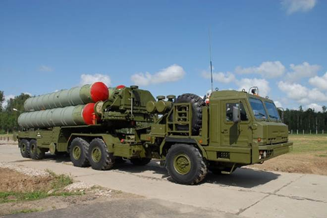 S-400 Triumf advanced air defence missile system