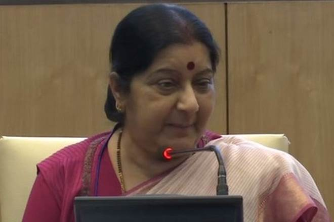 Sushma Swaraj, Sushma Swaraj in Tajikistan, SCO meeting in Tajikistan, Shanghai Cooperation Organisation, india news