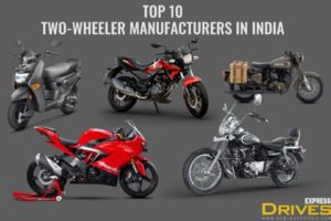 Top 10 two-wheeler manufacturers in India: 44 units of bikes and scooters sold every minute - The Financial Express