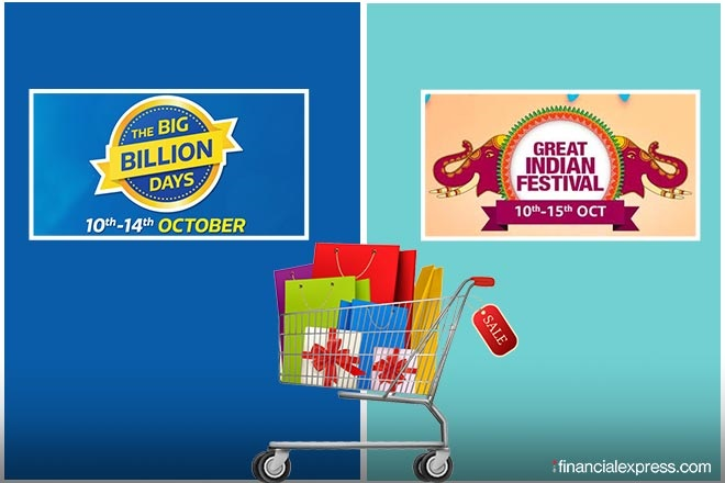 Flipkart Big Billion Days, Amazon Great Indian Festival sales, festive season, personal loan, flipkart offers, amazon offers, flipkart offers on mobiles,